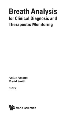 Breath Analysis For Clinical Diagnosis & Therapeutic Monitoring (With Cd-Rom)