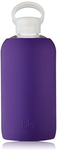 BKR Taj - Botella de agua de cristal, 1L