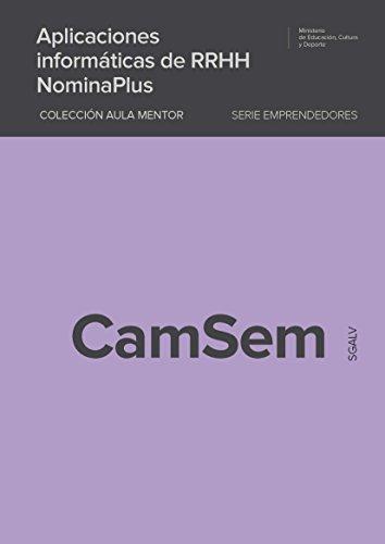 Aplicaciones informáticas de RRHH. NóminaPlus por Roberto Muñoz Rodríguez