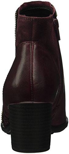 Gabor Basic, Bottes Classiques Femme Rouge (Merlot Micro)