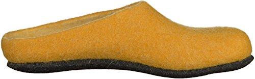 MagicFelt AN 709 17709 Unisex-Erwachsene Pantoffeln Curry