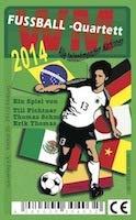 Fussball-Quartett WM 2014: alle teilnehmenden Nationalmannschaften