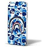 a-bathing-ape-blue-shark-iphone-case-funda-iphone-5-5s-white