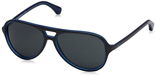 Emporio Armani Herren 0EA4063 546787 58 Sonnenbrille, Blau Blu/Grey