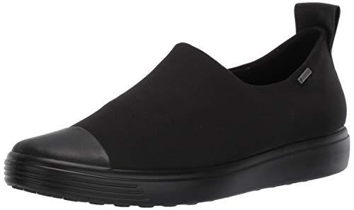 ECCO Damen Soft 7 W Slip On Sneaker, Schwarz Black 51094, 42 EU