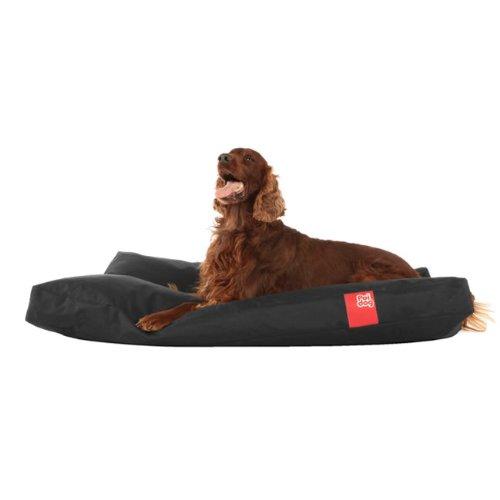 poi dog xl extra large dog bed black poly canvas duvet dog beds - Xl Dog Beds