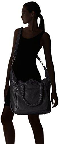 Liebeskind Berlin - AkashiS, Borsa shopper Donna Nero (Schwarz (ninja black 9998))