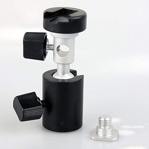 Noradtjcca Swivel Flash Blitzschuh Schirmhalter Licht Halterung Ständer Mount Adapter für Studio Light Typ C Swivel Flash Bracket