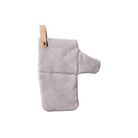 Verbrühschutzhandschuhe, rutschfest, Baumwolle, isoliert, Ofen, Backen, Haushalt, Verbrühschutzhandschuhe Schutzhandschuh (Color : Blue, Size : L-One pair)