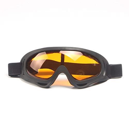 Kitechildhiid occhiali tattici antiappannanti antivento occhiali polarizzati per esterno uv400 protezione arancione