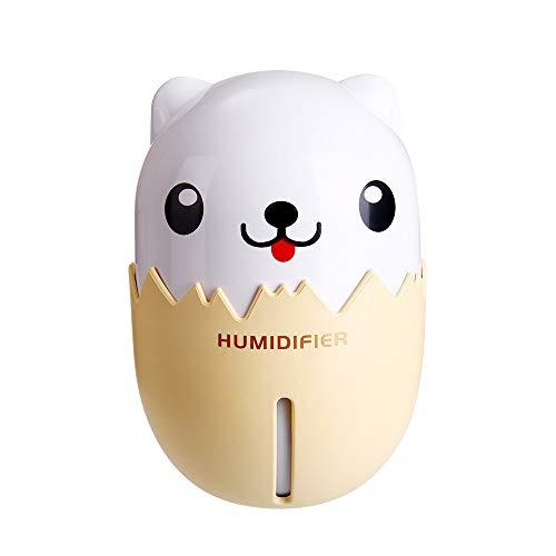 Mitlfuny Weihnachten Home TüR Dekoration 2019,3 in 1 Luftbefeuchter Cute Dog LED Luftbefeuchter Diffusor Luftreiniger Zerstäuber