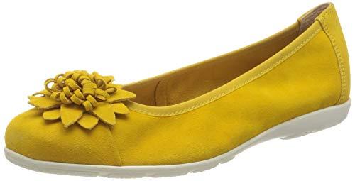 Caprice Vivian, Bailarinas para Mujer, Amarillo Yellow Suede 641, 36 EU