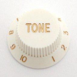 Göldo KBSTW Tone-Knopf für Strat / weiß