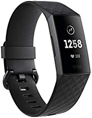Fitbit Charge 3 Fitness Activity Tracker Graphite and Black