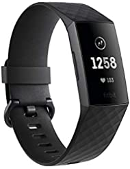 Fitbit Charge 3 Advanced Fitness Tracker with Heart Rate, Swim Tracking & 7 Day Battery