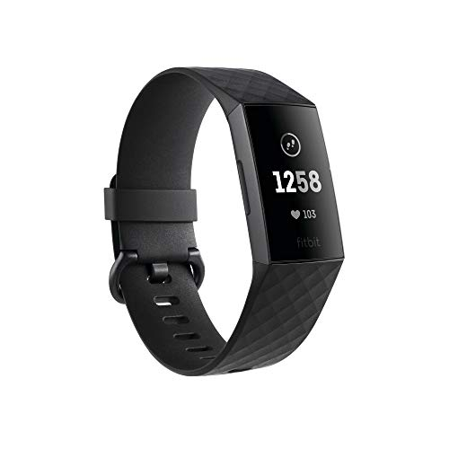 Fitbit Charge 3 Advanced Health & Fitness Tracker - Graphite/Black, One Size