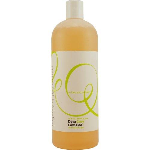 DevaCurl Produit de lavage Low Poo Cleanser - Aide à maintenir l'hydratation des cheveux et du cuir chevelu - Peu moussant 946 ml