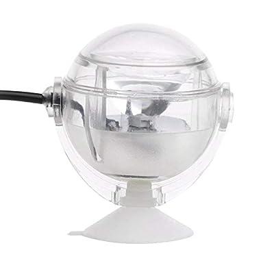ACAMPTAR Lampe sous-Marine a LED Lumiere d'aquarium Etanche a Prise UE 110V 220V LED pour Corail Recif Aquarium Lumiere d'aquarium Submersible Lampe projecteur Blanc