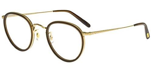 Oliver Peoples Brillen MP-2 OV 1104 WASHED DARK BROWN GOLD PLATED Herrenbrillen
