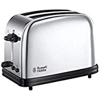 Russell Hobbs Toaster Chester Classic 23311-56, 1670 W, Acier Brillant