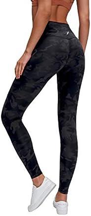 Hinkee Women's Breathable Soft High Waisted Yoga Pants Run Dance Fitness Leggings Sports Pants Ankle-Lengt