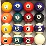 #6: Chinese Pool Table Ball Set 2.1/16