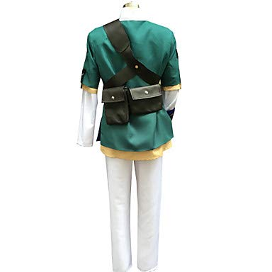 Kostüm Bilder Schwarze Witwe - HAOBAO Inspiriert von The Legend of Zelda Link Anime Cosplay Kostüme Cosplay Kostüme Patchwork LangarmMantel Top Hosen Gürtel Mehre Accessoires, l