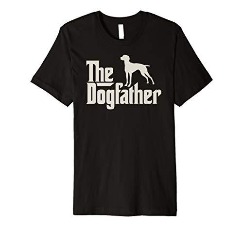 The Dogfather Vizsla Ungarischer Vorstehhund Hundepapa Shirt -