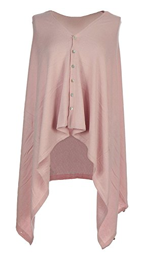 Obbsession - Poncho - Cappotto -  donna Pink Nude 5 in 1