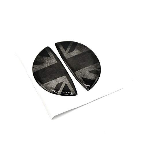 Vinyl 2 stücke Türgriff Armlehne Fensterheber Panel Schutzfolie Trim Aufkleber für Mini Cooper R56 Hatchback R57 Covertible R58 Coupe R59 Roadster R60 Countryman R61 Paceman