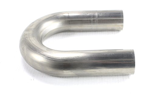 4in 16 Gauge (Patriot Exhaust H6938 U-Bend Stainless 2.500 x 4in Radius 16 Gauge)