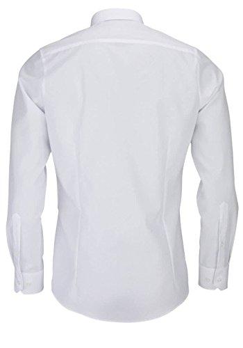 Marvelis 6799-64-00 Body a maniche lunghe, bianco, 100% cotone Bianco