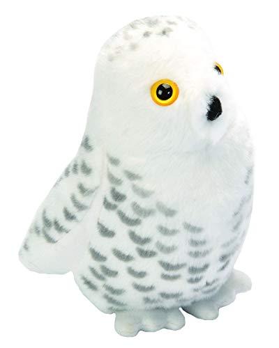 Wild Republic - 19597 - Oiseau en Peluche avec Ramage Original - Harfang des Neiges