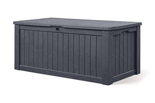 keter cabinet mehrzweckschrank aufbewahrungsschrank gartenschrank garten 570 l. Black Bedroom Furniture Sets. Home Design Ideas