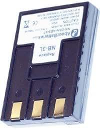 Batterie type CANON NB-3L, 3.7V, 790mAh, Li-ion