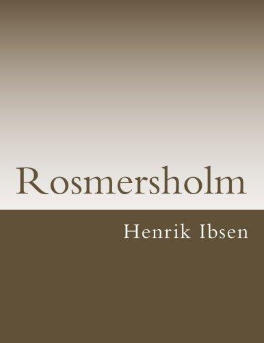 Rosmersholm (Klassische Bcher)