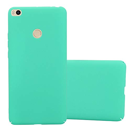 Cadorabo Funda para Xiaomi Mi MAX 2 en Frosty Verde - Cubierta Protección de Plástico Duro Super Delgada e Inflexible con Antichoque - Case Cover Carcasa Protectora Ligera