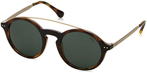 Polo Ralph Lauren Damen 0Ph4122 500371 49 Sonnenbrille, Braun (Havana/Green),