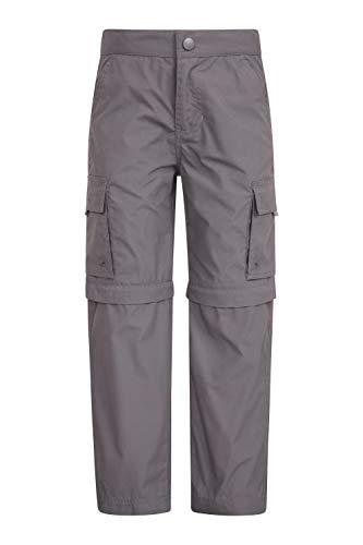 Mountain Warehouse Active Zip-Off-Hose Für Kinder - schrumpf- & verblassungsbeständige Kinderhose, schnelltrocknende Hose, abtrennbare Hosenbeine - für Camping, Reisen