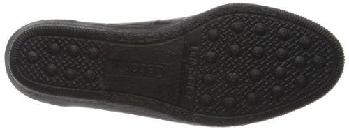 Gabor Petunia-402, Mocassins Femme Noir  noir