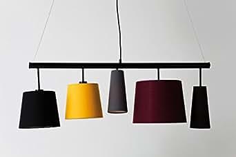 Kare Applique 35777, rouge, bleu, jaune, orange, marron, 30x 100x 30cm