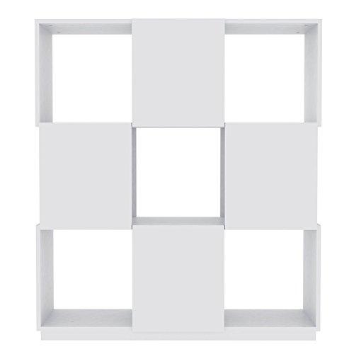 Paris Prix - Temahome - Buffet Branch 3x3 Blanc Mat