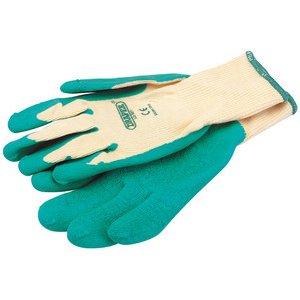Draper Expert Vert gants enduits de Latex Taille des vêtements de protection