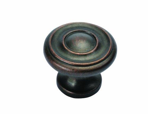 Hickory Hardware 1-1/4-Zoll Altair Schrank Knauf, Dark Antique Copper, 1.25