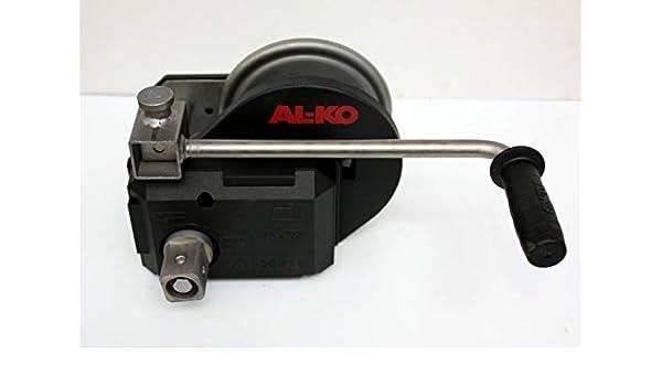 12,5m lang // 7mm dick mit Karabinerhaken Alko Abrollautomatik Handwinde Handseilwinde 1730014 p4U Original AL-KO Optima Seilwinde 901-A mit Seil