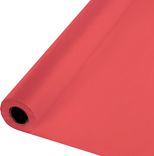 Creative Converting 100 'Roll Kunststoff Tisch, Candy Pink