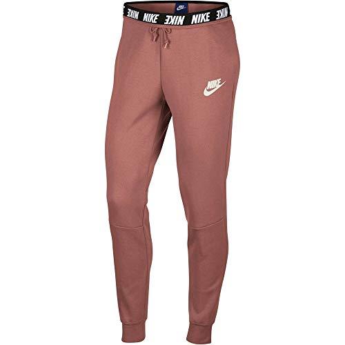 Nike Damen Advance 15 Jogginghose, Rust Pink/Sail, L
