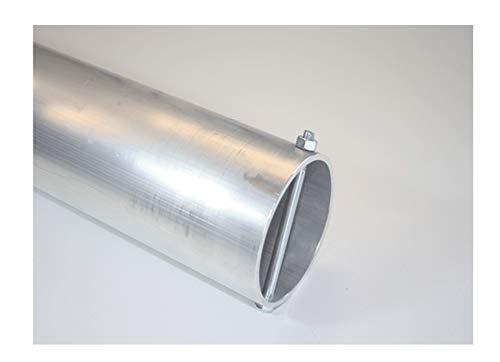 Bodenhülse für Fahnenmasten/Stangen/Masten 70 mm Durchmesser Aluminium -