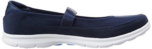 Skechers Gehen Schritt-Original 14213 Schuhe Schwarz Blau