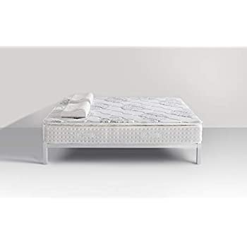 Vesgantti 5FT King Size Mattress, 10.6 Inch Pocket Sprung Mattress King Size with Breathable Foam and Individually Pocket Spring - Medium, Standard Pillow Top Collection